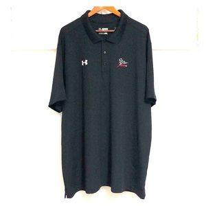 UNDER ARMOUR Men's Loose Fit Golf Shirt